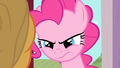 Pinkie Pie looks at Applejack angrily S1E25.png
