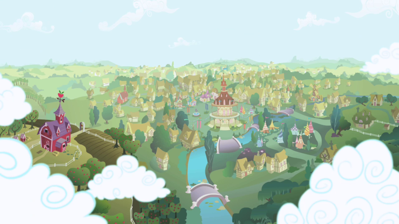Map Of Ponyville Ponyville | My Little Pony Friendship is Magic Wiki | FANDOM