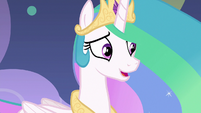 "Princess Celestia ""my apologies"" S8E7"