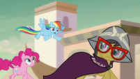 "Rainbow Dash ""we picked a bad example"" S7E18"