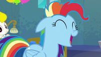 Rainbow Dash --all the time!-- S6E7