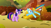 Rainbow Dash surprised S1E13