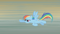 Rainbow flies back toward the stage S1E06.png