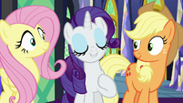 "Rarity ""looking forward to a spa day"" S7E2"