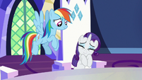 "Rarity ""they'll be silky and warm"" S7E11"