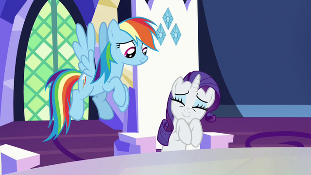 """File:Rarity """"they'll be silky and warm"""" S7E11.png"""
