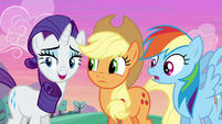 Rarity --that's what we said, darling-- S6E14