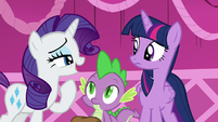 Rarity --we were at Sweet Apple Acres and-- S5E22