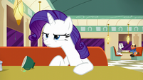 Rarity looking annoyed S6E9