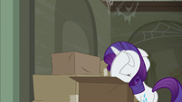 Rarity reaching her wit's end S6E9