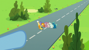 S06E24 Rainbow Dash pokazuje Twilight, gdzie jest Spitfire