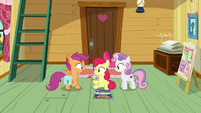 "Scootaloo ""wait for our chaperone"" S9E22"