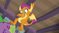 "Smolder ""yours takes the cake!"" S8E11"