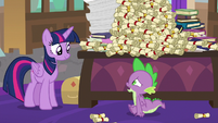 Spike -gonna be gone that long- S8E15