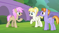 Students mingle during Friends and Family Day S8E1.png