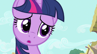 Twilight adorable expression S3E11