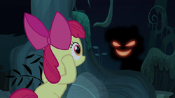 Apple Bloom confronted by her shadow S5E4