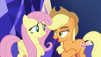 "Applejack ""solvin' friendship problems"" S8E23"