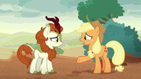 Applejack -went quiet in the first place- S8E23
