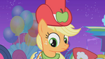 Applejack in her custom made Gala dress S1E14