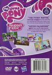 Celebration at Canterlot DVD back cover