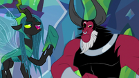 "Chrysalis ""that big, strong minotaur"" S9E25"
