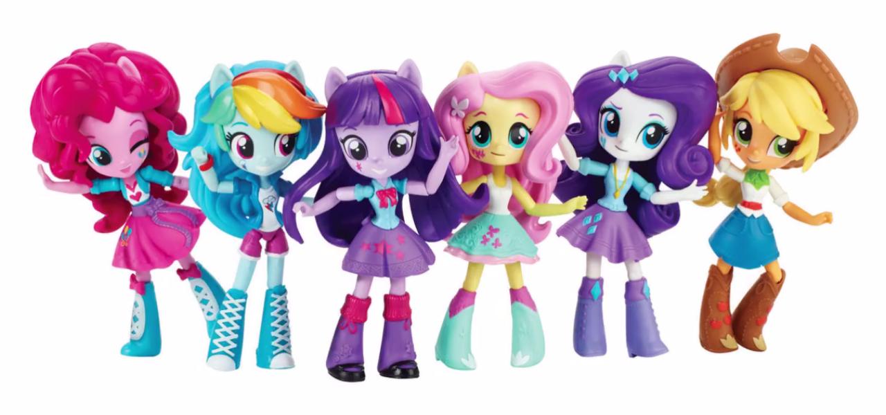 Image - Equestria Girls Minis Mane Six lineup.png | My ...