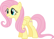 FANMADE Excited Fluttershy vector by Myardius