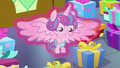 Flurry Heart looking at her many presents S7E3.png
