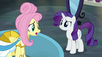 "Fluttershy ""I'm just sorry you had to leave"" S8E4"