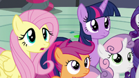 "Fluttershy ""is something wrong"" S6E7"