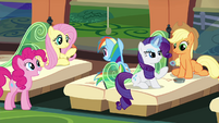Main 5 on the train to Ponyville S4E22