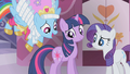 Parasprites from Twilight's mane about to emerge S1E10.png