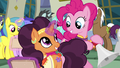 Pinkie Pie and Saffron smiling at each other S6E12.png
