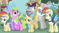 Ponies gasp at the scream S02E08.png