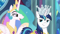"Princess Celestia ""I asked our old captain"" S9E4"