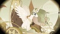 Princess Celestia in the flashback S2E12