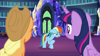 "Rainbow Dash ""I feel terrible"" S7E23"