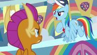 "Rainbow Dash ""I talked to my friends"" S9E15"