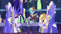 Rainbow Dash -I found Pinkie's page- S7E14