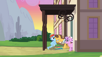 Rainbow Dash being discharged again 1 S2E16