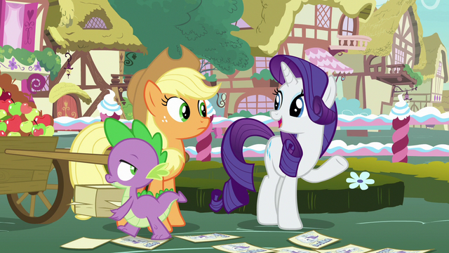 "File:Rarity ""Photo Finish has an artistic eye"" S7E9.png"