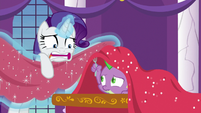 "Rarity ""have to do with sequins!"" S9E13"