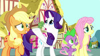 Rarity -please listen to Rainbow Dash- S8E18