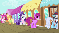 Rarity hears Applejack S3E12