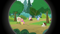 Rumble's campers doing various activities S7E21