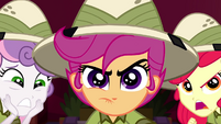 Scootaloo focuses her hardest on the game SS11