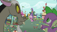 """Spike """"she didn't see the poem"""" S9E23"""