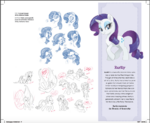 The Art of MLP The Movie page 17 - Rarity concept art
