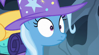Trixie's eyes widening S6E25